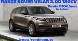 Oferta Range Rover Velar por 810€/mes
